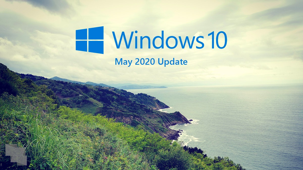 Actualización de Mayo 2020 de Windows 10