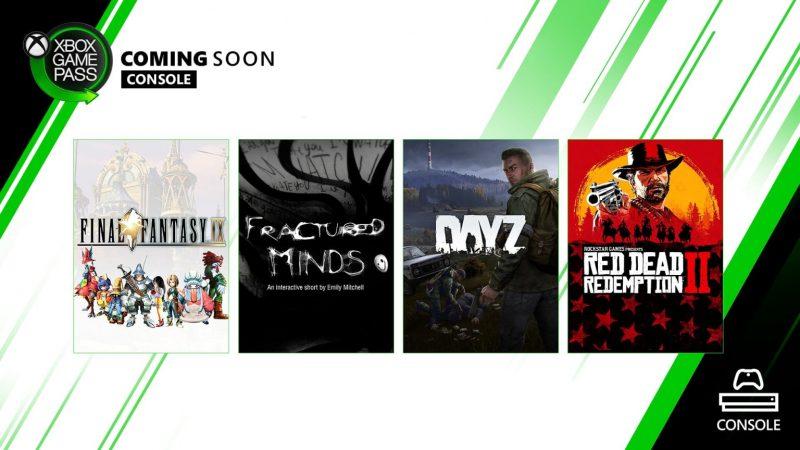 Red Dead Redemption II y otros títulos llegan a Xbox Game Pass