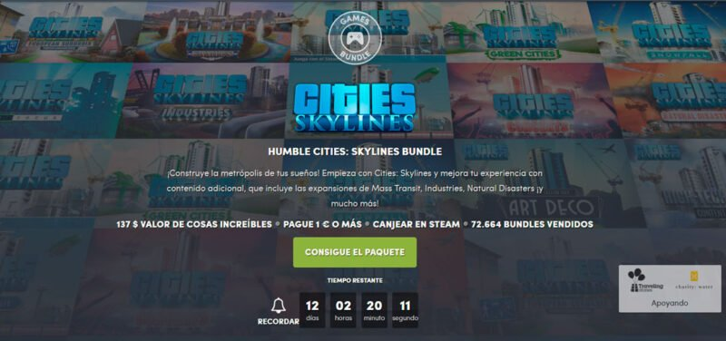 Humble Cities: Skylines Bundle