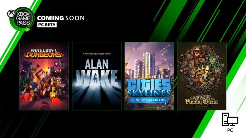 Minecraft Dungeons y otros juegos que llegan a Xbox Game Pass