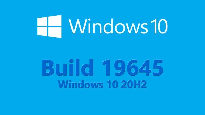 Build 19645