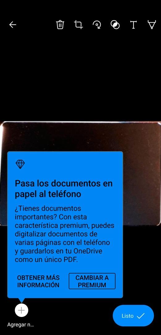 Consejo para digitalizar varias páginas en OneDrive