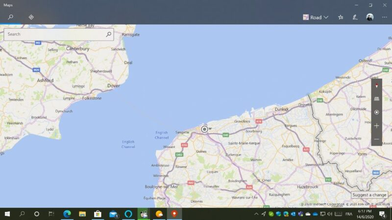 Mapas para Windows 10