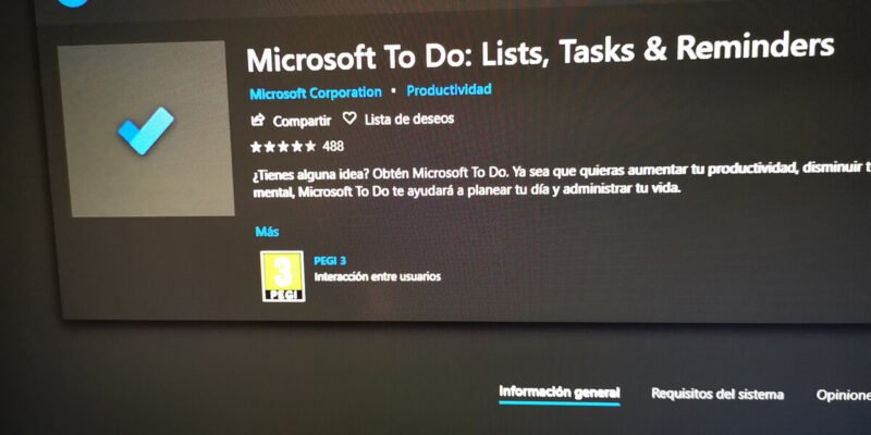 Microsoft To Do para Windows 10