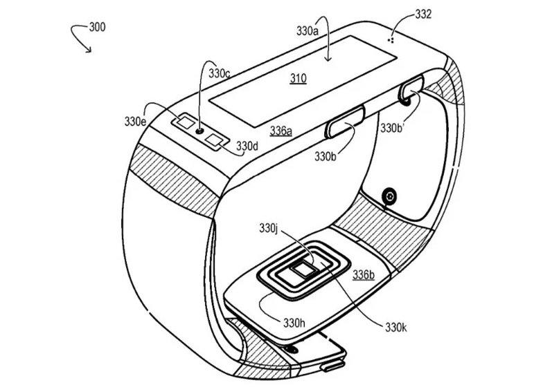 Patente pulsera de ejercicio de Microsoft