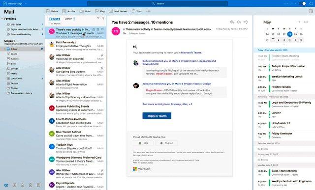 Outlook para Mac (macOS) - Junio 2020