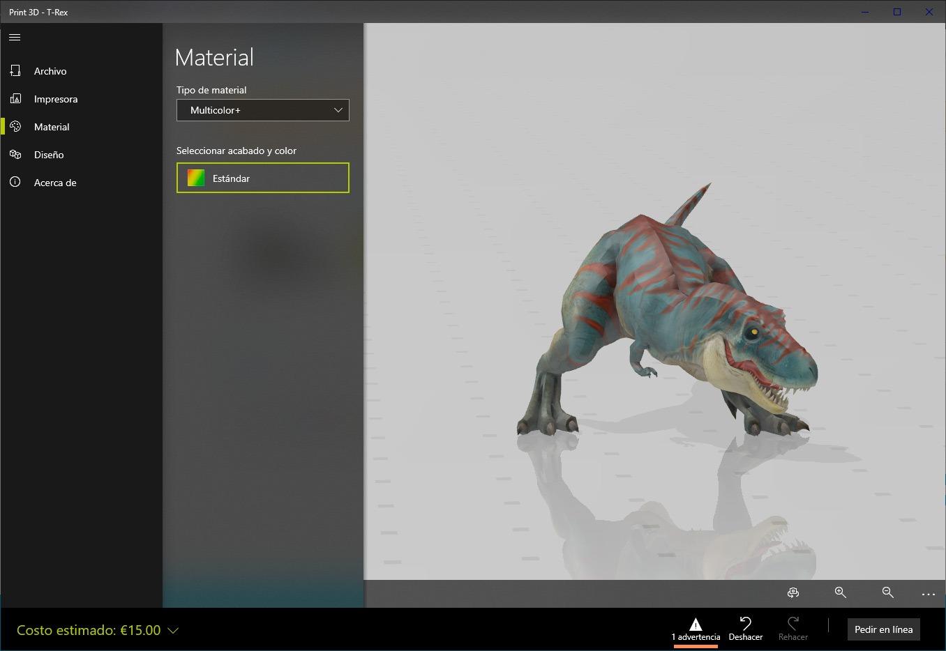 Print 3D en Windows 10