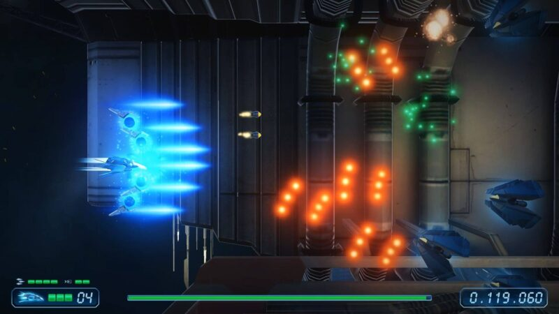 Rigid Force Redux, analizamos este shoot 'em up horizontal