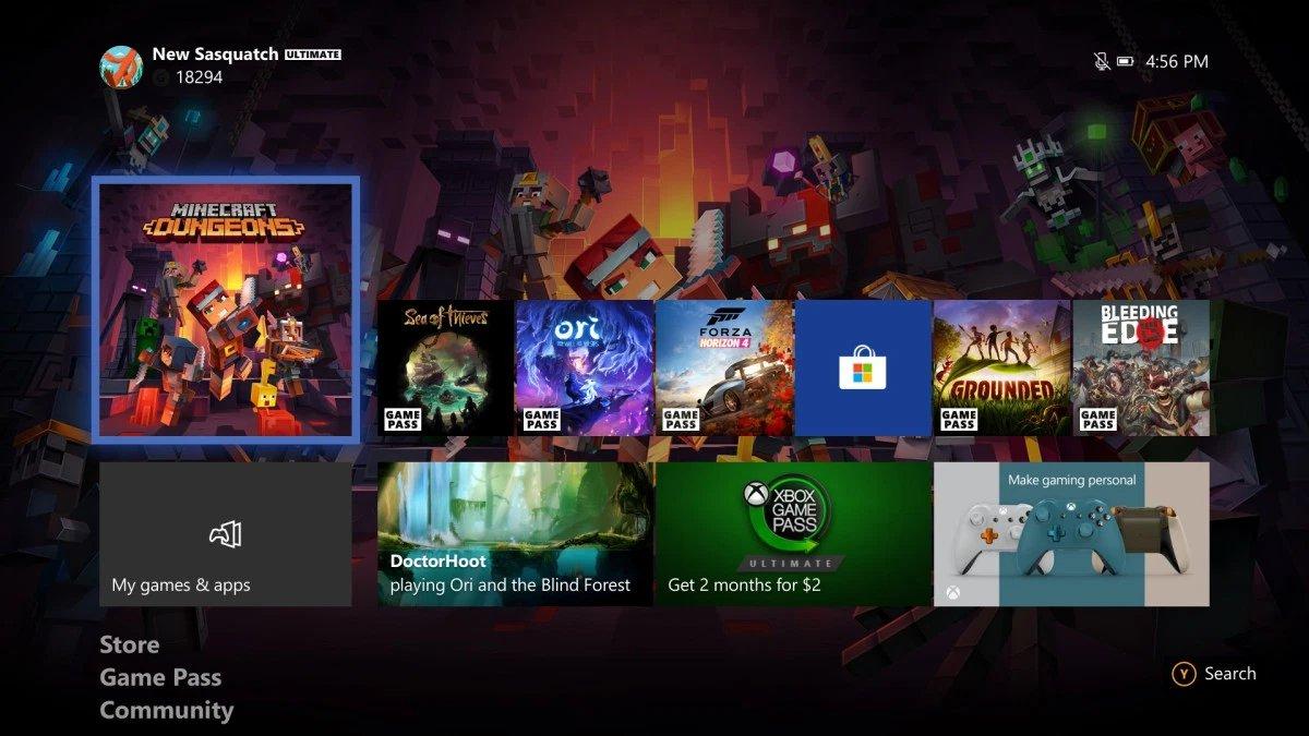Actualización de junio de 2020 para las consolas Xbox One