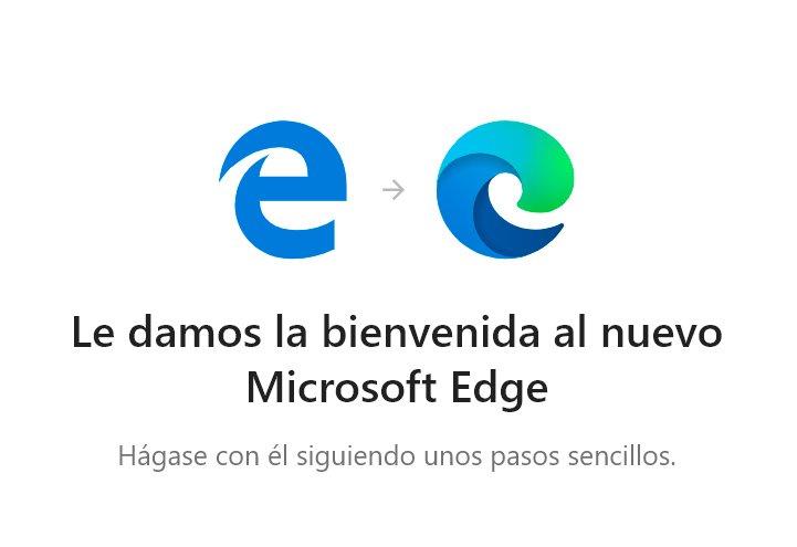 Bienvenida Microsoft Edge con la actualización KB4559309
