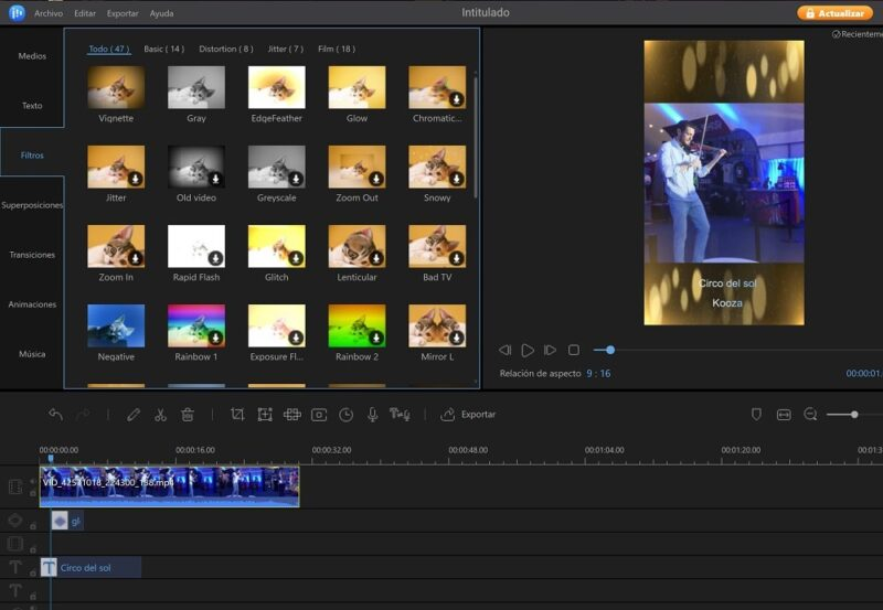 EaseUS Video Editor, tan sencillo como eficaz