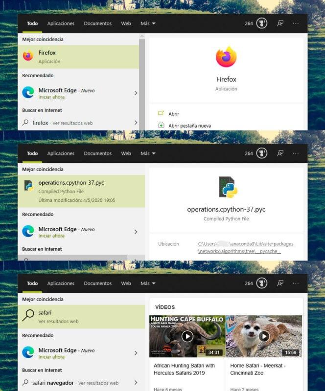 Microsoft te recomienda Edge cuando buscas Chrome u otros navegadores