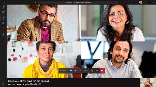 Reuniones en Microsoft Teams