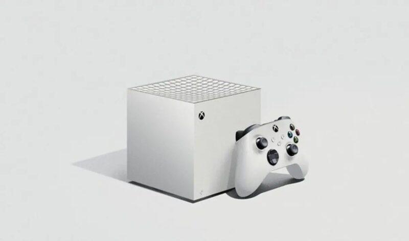 Posible diseño Xbox Series S