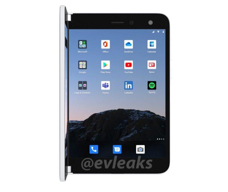 Se filtran los rendes oficiales del Surface Duo al detalle
