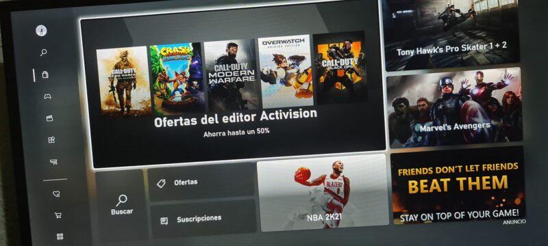 tienda de Xbox 2