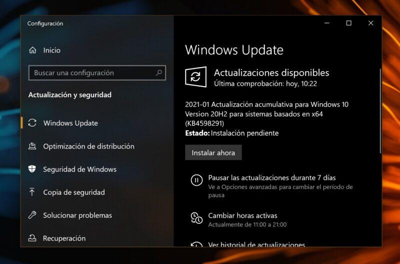 La Build 19042.782 (KB4598291) se lanza para los canales Beta y Release Preview