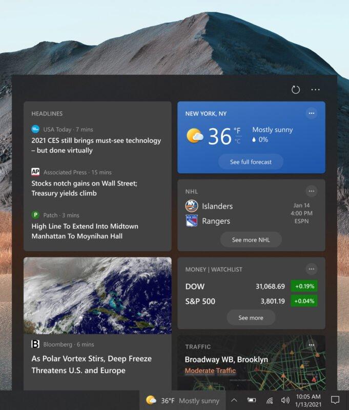 La Build 21292 se lanza en el Canal Dev para Windows 10