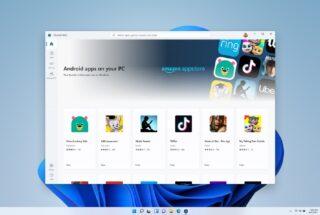 Windows 11 permitirá instalar APKs de Android de fuentes externas