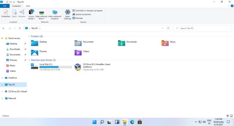 """Probamos la build de Windows 11 """"Sun Valley"""" filtrada previa a su anuncio"""