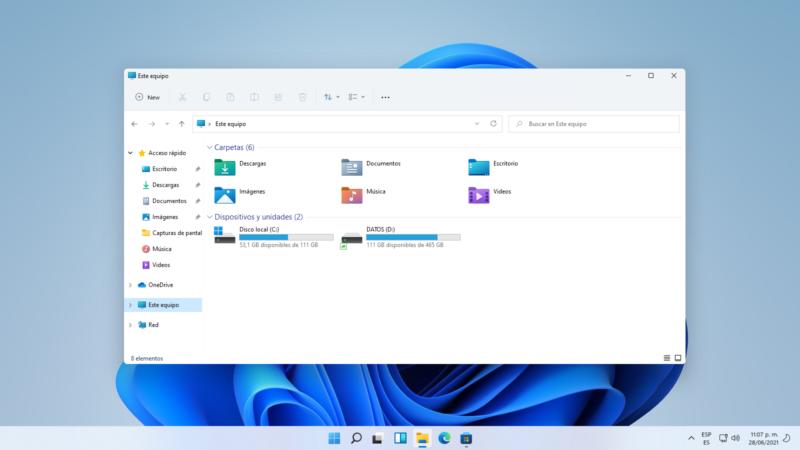 La Build 22000.51 es la primera de Windows 11 para Insiders